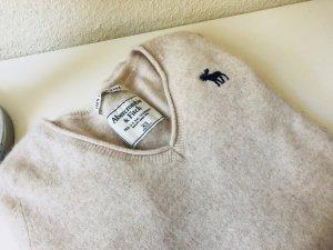 Abercrombie & Fitch Cashmere Jumper beige-oatmeal cashmere