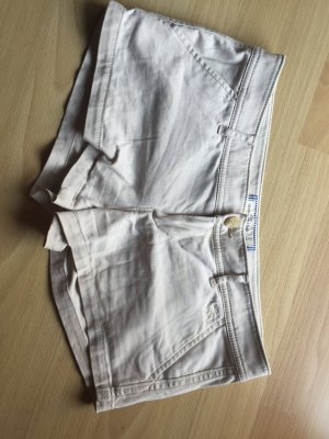 Abercrombie & Fitch Hollister Shorts beige 2 kurze Hose braun creme 36 34