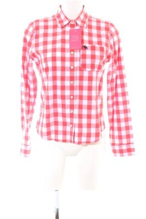 Abercrombie & Fitch Chemise de bûcheron rouge-blanc motif à carreaux