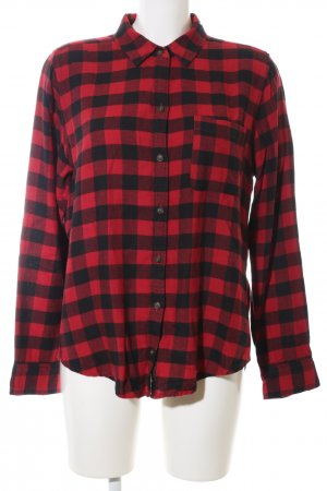 Abercrombie & Fitch Lumberjack Shirt red-black check pattern casual look