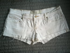 Abercrombie & Fitch Hot Pant Weiß