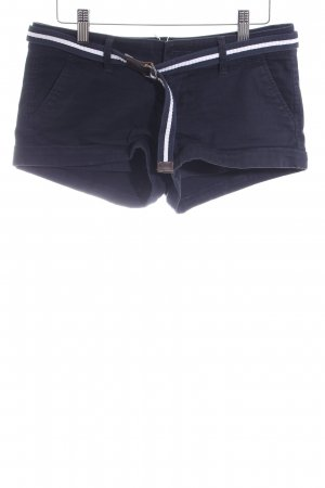 Abercrombie & Fitch Hot Pants dunkelblau Casual-Look