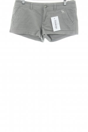 Abercrombie & Fitch Hot Pants hellgrau Casual-Look