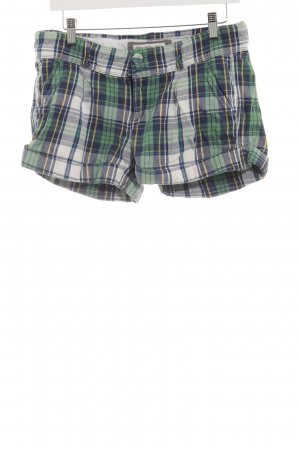Abercrombie & Fitch Hot Pants Karomuster Casual-Look