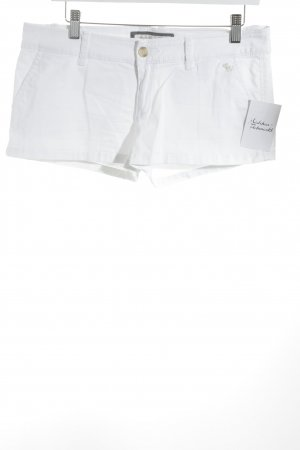 Abercrombie & Fitch Hot pants bianco stile spiaggia