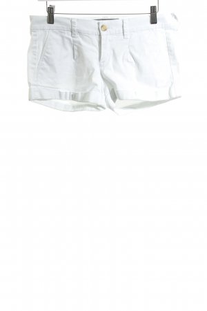 Abercrombie & Fitch Hot Pants weiß Casual-Look