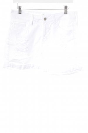 Abercrombie & Fitch Hot Pants white casual look