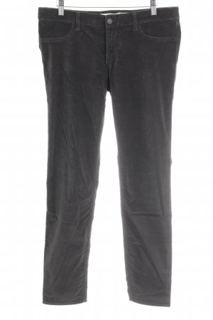 Abercrombie & Fitch Lage taille broek donkergroen casual uitstraling