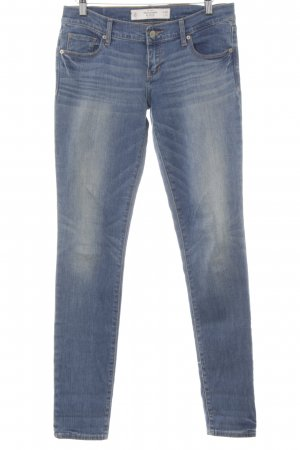 Abercrombie & Fitch Hüftjeans blau Casual-Look