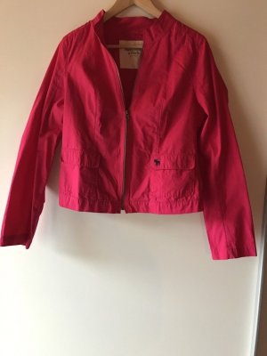 Abercrombie & Fitch Jacket magenta-pink