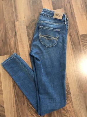 Abercrombie & Fitch Jeans skinny blu