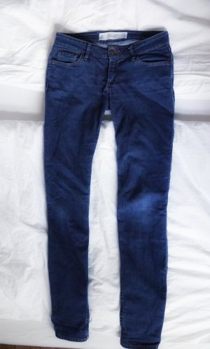 Abercrombie & Fitch Skinny jeans blauw