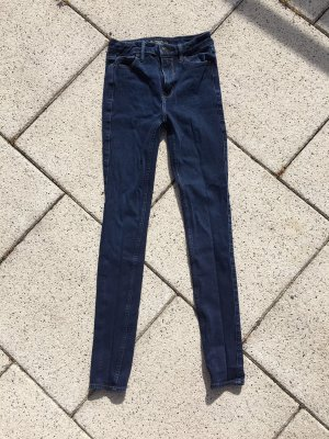 Abercrombie & Fitch Skinny jeans donkerblauw