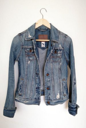 Abercrombie & Fitch Jeans Jacke im Usedlook