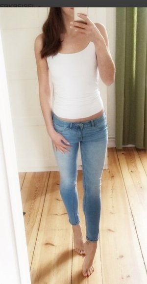 Abercrombie & Fitch Jeans Jeggings helle Waschung W25 0S