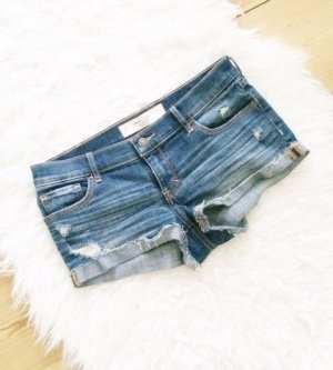 Abercrombie & Fitch Jeans Shorts Hotpants blau 4 W27 A&F