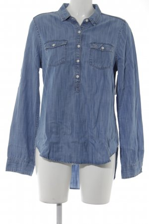 Abercrombie & Fitch Jeansbluse kornblumenblau Casual-Look