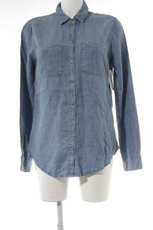 Abercrombie & Fitch Denim Shirt light blue casual look