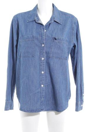 Abercrombie & Fitch Camicia denim azzurro stile casual