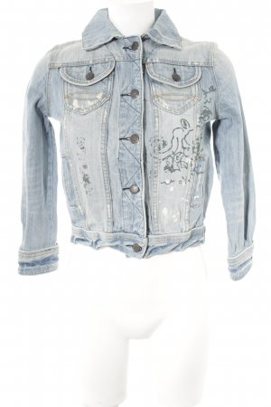 Abercrombie & Fitch Denim Jacket light blue second hand look