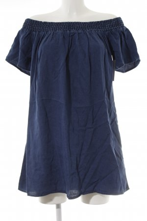 Abercrombie & Fitch Vestido vaquero azul look casual