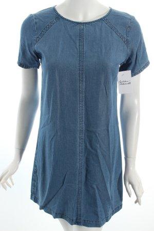 Abercrombie & Fitch Jeanskleid stahlblau
