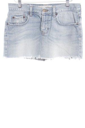 Abercrombie & Fitch Jupe en jeans bleu style décontracté