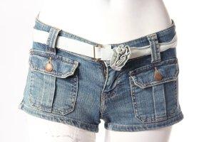 Abercrombie & Fitch Jeansshort mit Gürtel