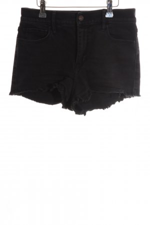 Abercrombie & Fitch Denim Shorts black casual look