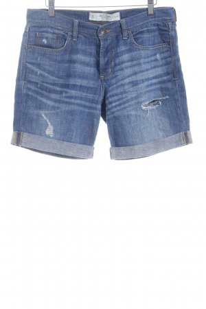Abercrombie & Fitch Jeansshorts blassblau Casual-Look