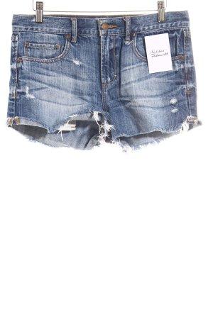 Abercrombie & Fitch Jeansshorts blau