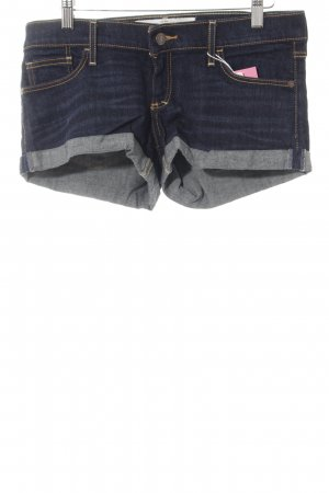 Abercrombie & Fitch Denim Shorts dark blue casual look