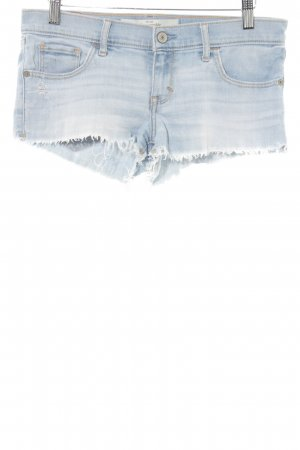 Abercrombie & Fitch Jeansshorts hellblau Casual-Look
