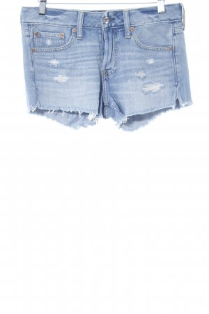 Abercrombie & Fitch Jeansshorts himmelblau Casual-Look