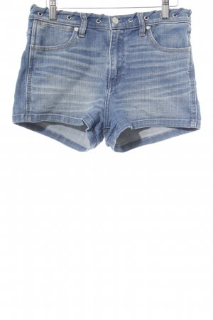 Abercrombie & Fitch Jeansshorts kornblumenblau Casual-Look