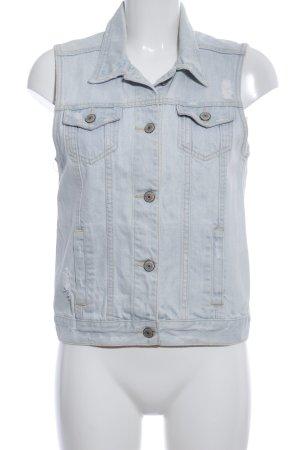 Abercrombie & Fitch Denim Vest blue casual look