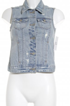 Abercrombie & Fitch Jeansweste himmelblau Casual-Look