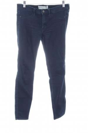 Abercrombie & Fitch Jeggings azul oscuro look casual