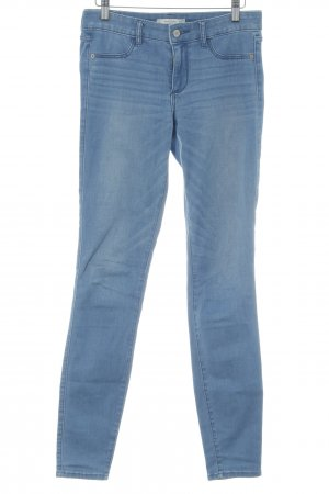 Abercrombie & Fitch Jeggings cornflower blue casual look