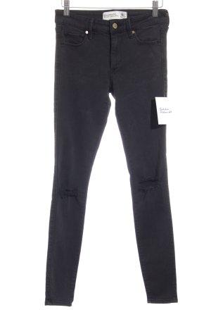 Abercrombie & Fitch Jeggings schwarz Street-Fashion-Look