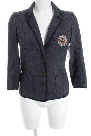Abercrombie & Fitch Jersey blazer zigzag patroon zakelijke stijl