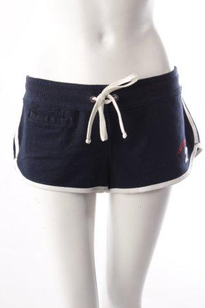 Abercrombie & Fitch Jerseyshorts blau