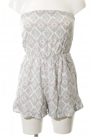 Abercrombie & Fitch Jumpsuit Allover-Druck Casual-Look