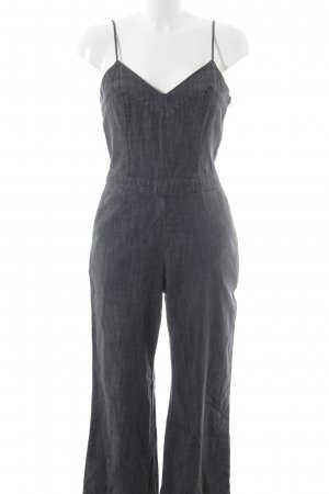 Abercrombie & Fitch Tuta grigio scuro stile casual