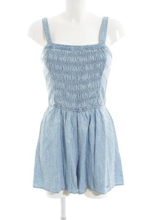 Abercrombie & Fitch Jumpsuit kornblumenblau Bleached-Optik
