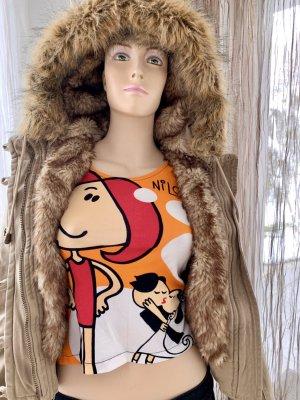 Abercrombie & Fitch Giacca bomber beige-marrone chiaro