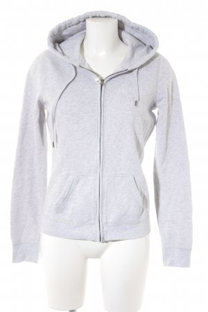 Abercrombie & Fitch Hoody light grey casual look