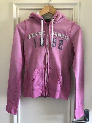 Abercrombie & Fitch Kapuzenjacke rosa