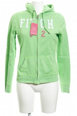 Abercrombie & Fitch Hoody embroidered lettering casual look