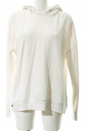 Abercrombie & Fitch Kapuzenpullover creme Casual-Look